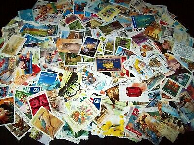 Australian Stamps - Over 300 stamps all eras - No Def or Xmas - Used/Bulk