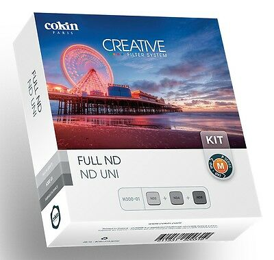 Cokin P Series Full ND Kit H300-01 ND2 ND4 ND8 - P152 P153 P154 - New & Unboxed