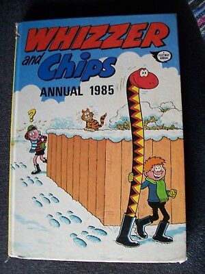 'whizzer And Chips' Annual 1985 : Hardback : Isbn 85037 874 5