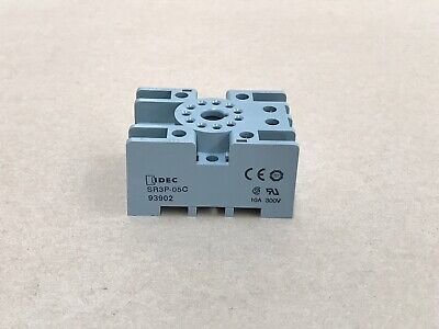 Idec Sr3P-05C -  Relay Socket 93902  10 Units In Box
