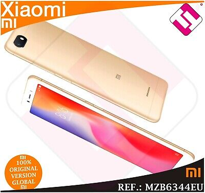 Telefono Movil Xiaomi Redmi 6A Gold 16Gb Rom 2Gb Ram Smartphone Global Color Oro