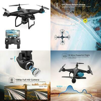 Holy Stone HS120D FPV Drone with Camera for Adults 1080p HD Live Video GPS New