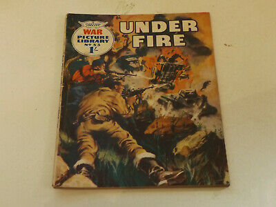 WAR PICTURE LIBRARY NO 33 !,dated 1960 !,GOOD for age,great 59 !YEAR OLD issue.