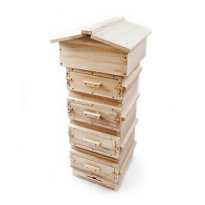 Warre Hive - Complete (Wooden Roof)