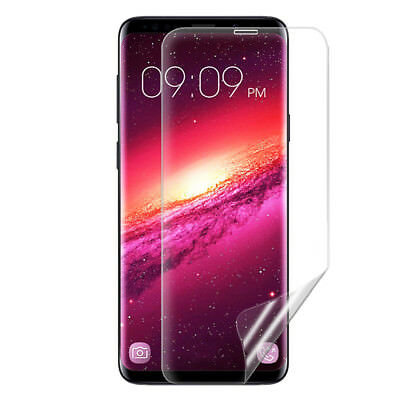 For Samsung Galaxy S8 S8Plus A8+ Flex Full Coverage Soft TPU Screen Protector sm