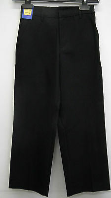 BNWT Girls Black School Trousers  age 8 from Marks and Spencers