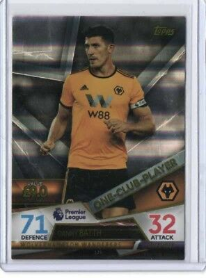 Danny Batth 2018/19 Topps Match Attax Ultimate One Club Player#125