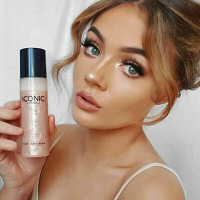New Iconic London Prep Set Glow Face Spray Makeup Free Shipping