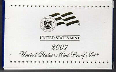 2007 United States Mint Proof Set 14 coin set in Original Boxes w/ COAs