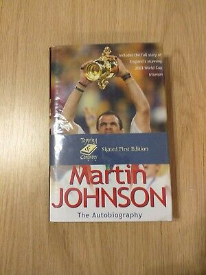 Martin Johnson - The Autobiography - Signed First Edition Book