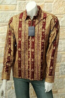 KENZO Authentic Men's Shirt 100% Cotton Free Shipping New with Tags Italy Made