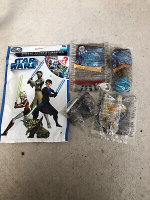 Star Wars Clone Wars Surprise Bag And Happy Meal Toys