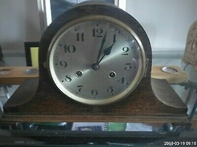 Antique Mantle Clock [Working]  Nelson Hat Style