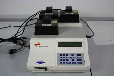 Hybaid Ltd OmniGene Thermal Cycler w/ Prog Card, Cables & Accessories