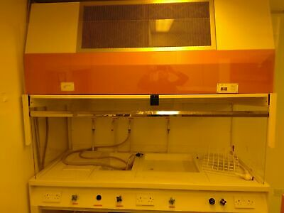 M.D.H. Large Fume Hood / Safety Cabinet With Sink