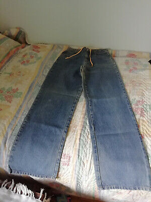 Benetton high-waisted jeans 10 years