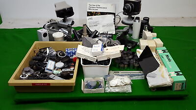 Job Lot of Microscope Accessories / Parts Eyepieces Lenses Filters + More