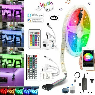 5m-30m Set SMD 5050 LED Strip Streifen Band Stripe Lichterkette RGB wasserdicht