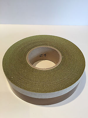30mm x 30M x 5th Self Adhesive PTFE Glass Woven Tape Teflon NOS Sale Low Prices