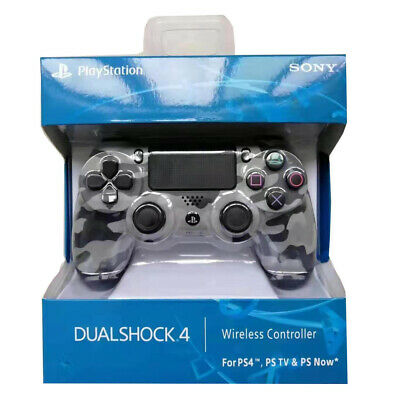 UK SONY PS4 DUALSHOCK 4 WIRELESS CONTROLLER - NEW & SEALED Grey Camo