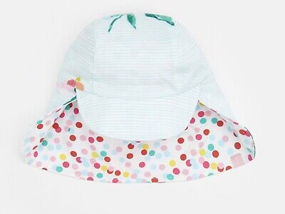 Joules Baby Sunny Reversible Hat  0/6 Months