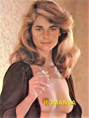 Charlotte Rampling 10 X 8 Photograph + Free 6 X 4 Pocket Book Size Photo R4070