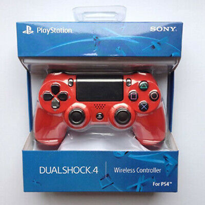 New  PlayStation DualShock 4 Wireless Controller  V2) Magma Red