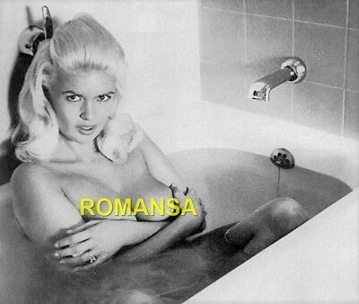 Jayne Mansfield 10 X 8 Photograph + Free 6 X 4 Pocket Book Size Photo  R4802