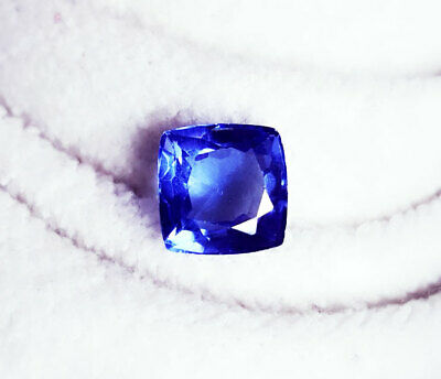 Natural Blue Sapphire  Loose Gemstone Certified Cushion Shape 8.95 Ct