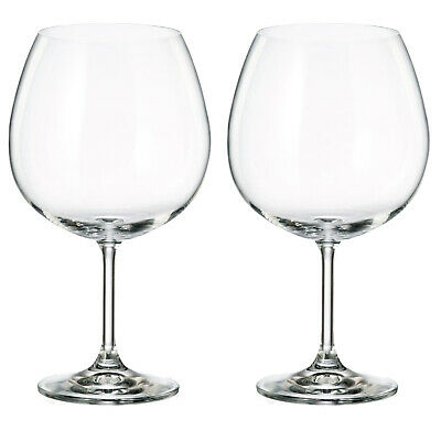 2-4-8 Large Gin and Tonic Glass Glasses G&T BOHEMIA CRYSTAL Wine 820ml Balloon