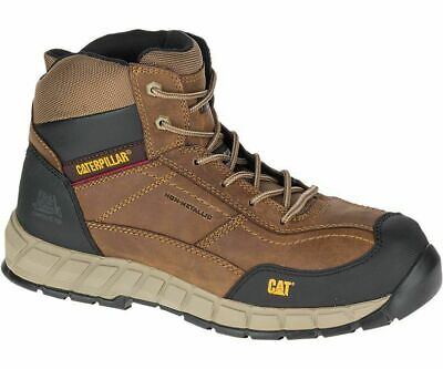 ed7d6c228d0a CATERPILLAR STREAMLINE MENS Composite Toe/Midsole Safety Work Boots ...