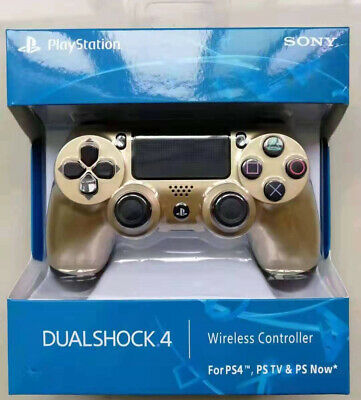 Gold OFFICIAL SONY PS4 DUALSHOCK 4 WIRELESS CONTROLLER - NEW & SEALED - UK