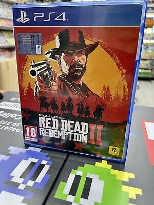 Red Dead Redemption 2 Ita PS4 USATO GARANTITO