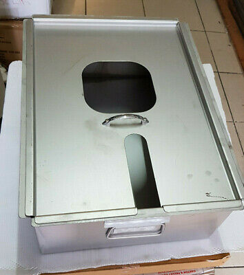 Henny Penny oil drain tank box pan with lid