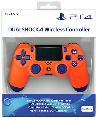 Sony Dual shock 4 Controller (Sunset Orange ) (PS4) Brand New & Sealed-2019