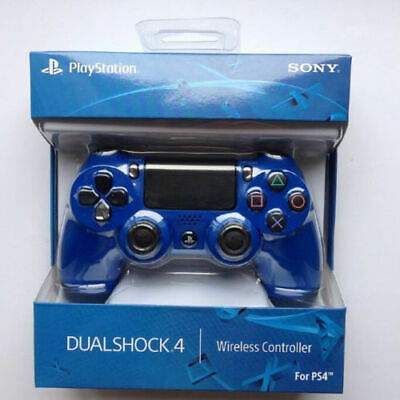 Official Sony Ps4 Dualshock 4 Wireless Controller - New & Sealed - (Blue)