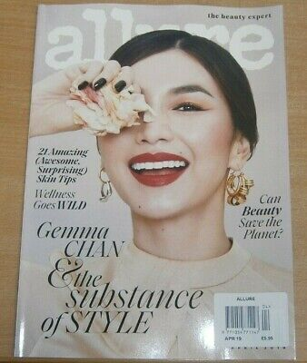 Allure magazine Apr 2019 Gemma Chan & The Substance of Style +Wellness goes Wild