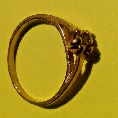 EXTREMELY RARE Ancient RING VIKING BRONZE WEDDING RING artifact VERY Stunning