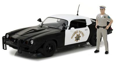 Car Chevrolet Camaro Z/28 California Highway Patrol Chp 1979 with Figurine
