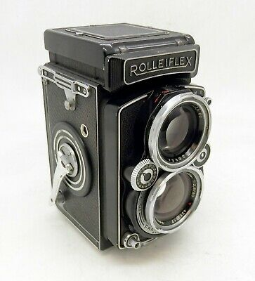 Rolleiflex 2.8E 6x6cm TLR (Light Cleaning Marks)