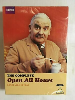 Open All Hours - The Complete Series 1 - 4 [DVD] NEW & Sealed, BW12