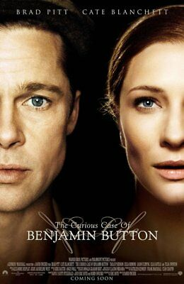 Brad Pitt The Curious Case of Benjamin Button 2008 27X40 Orig DS Movie Poster