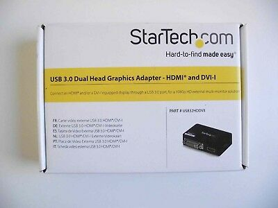 STARTECH USB 3 0 to HDMI DisplayLink Certified Graphics