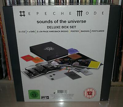 3 Cd + Dvd Depeche Mode - Sounds Of The Universe - Deluxe Box Set