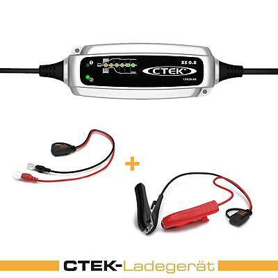 Ctek XS 0.8 Charger 12v 0.8a Charger Moped Motorcycle Motorbike Scooter