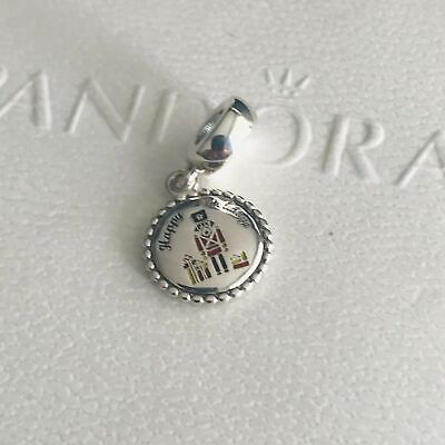 @ Authentic PANDORA Sterling Silver Nutcracker Dangle Charm ENG791169_93