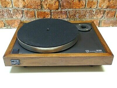 Ariston RD80 2 Speed Belt Drive Vintage Record Turntable (NO TONEARM OR LID)