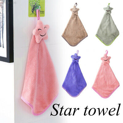 33BF Durable Stars Cleaning Equipment Bathing Towel Drying Hand Towel
