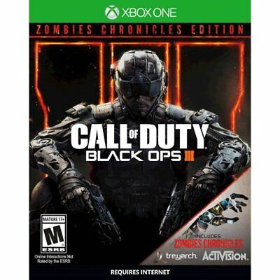 Call of Duty: Black Ops 3 III Zombie Chronicles Edition *New* (Xbox One, 2017) !