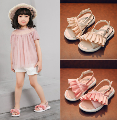 Toddler Girls Kids Walking Shoes Baby Girls Sport Sandals Summer Soft Shoes